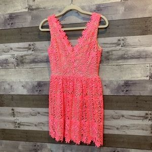 Rubber ducky production pink dress lace